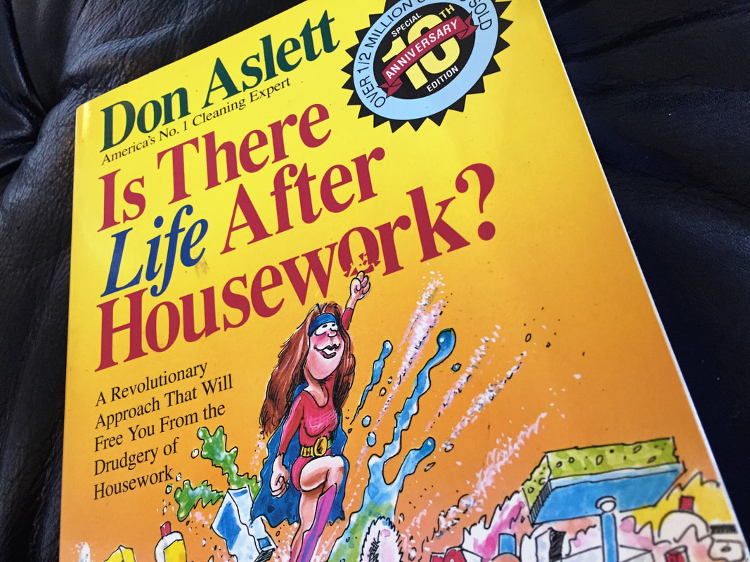 Book Recommendation: Is There Life After Housework. A recommendation from a professional organizer, JAM Organizing, in Wilmington, NC.
